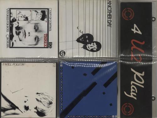 "U2 4 U2 Play - 'Sunburst' labels - EX 7"" vinyl single (7 inch record) Irish U-207UP662117"