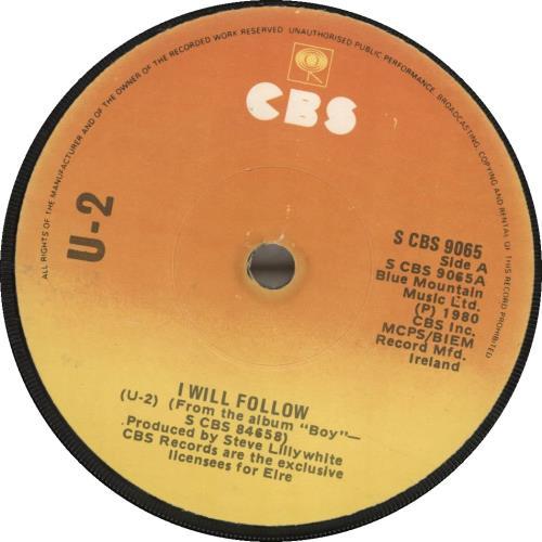 """U2 4 U2 Play 7"""" vinyl single (7 inch record) Irish U-207UP438455"""