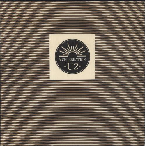 "U2 A Celebration - EX 7"" vinyl single (7 inch record) UK U-207AC383025"