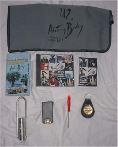 U2 Achtung Baby Users Kit memorabilia UK U-2MMAC17657