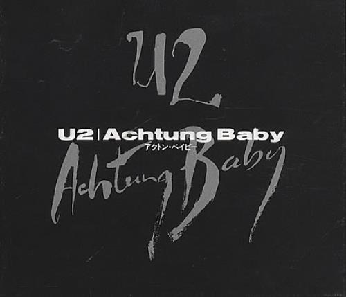 U2 Achtung Baby Japanese Cd Album Cdlp 158072