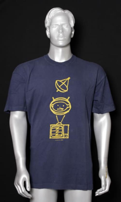 U2 Achtung Zooropa - Extra-large t-shirt UK U-2TSAC546045