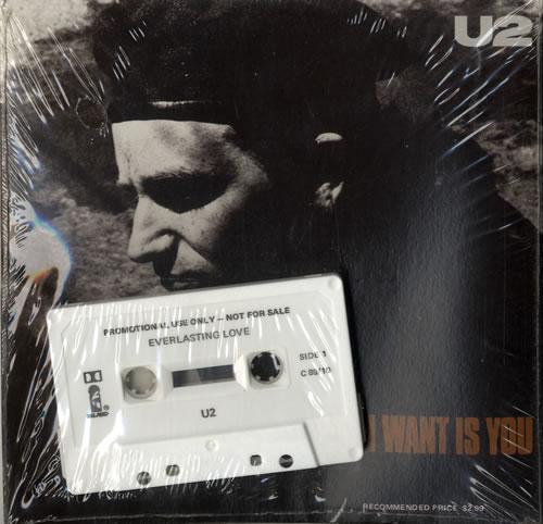 U2 All I Want Is You + Cassette Australian 7