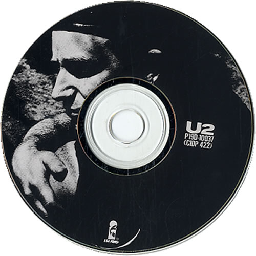 "U2 All I Want Is You CD single (CD5 / 5"") Japanese U-2C5AL140282"
