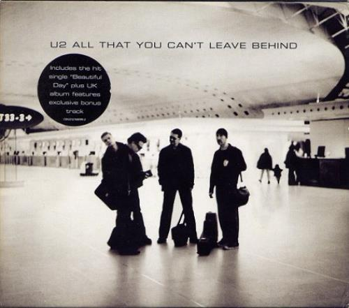 U2 All That You Can't Leave Behind - Numbered CD album (CDLP) UK U-2CDAL166584