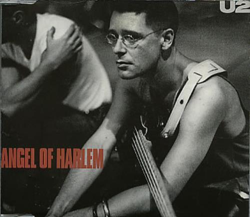 "U2 Angel Of Harlem CD single (CD5 / 5"") German U-2C5AN02780"