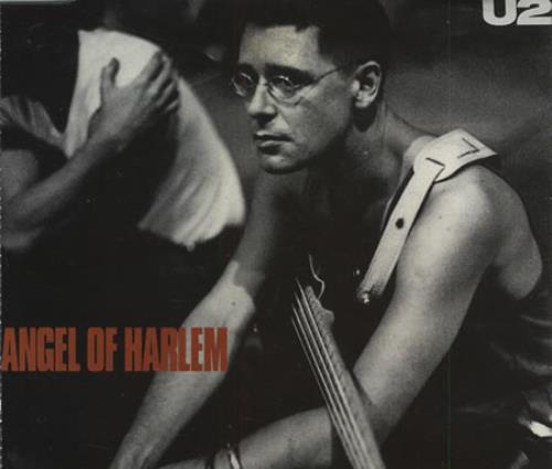 "U2 Angel Of Harlem CD single (CD5 / 5"") UK U-2C5AN30542"