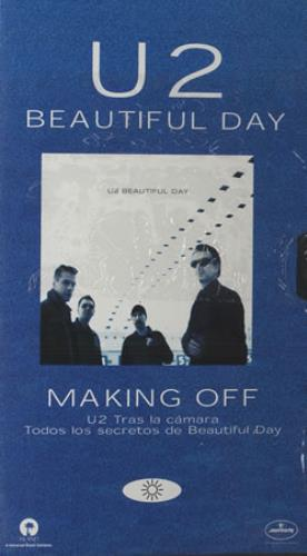 U2 Beautiful Day - with Rolling Stone mag video (VHS or PAL or NTSC) Spanish U-2VIBE170741