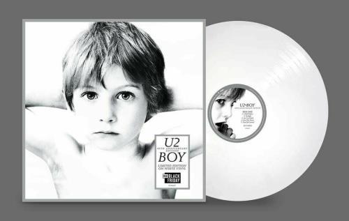 U2 Boy - 40th Anniversary Edition - White Vinyl - RSD 2020 vinyl LP album (LP record) UK U-2LPBO756845