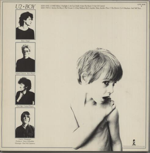 U2 Boy - EX vinyl LP album (LP record) UK U-2LPBO428887