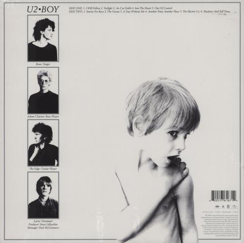 U2 Boy - Remastered - Sealed vinyl LP album (LP record) UK U-2LPBO759383