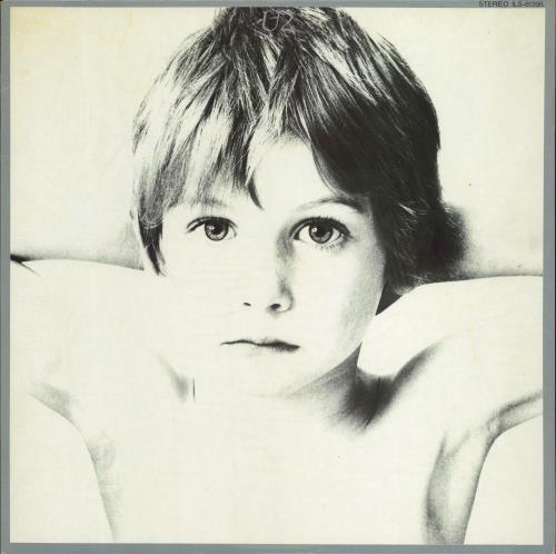 U2 Boy - Withdrawn Toshiba Issue vinyl LP album (LP record) Japanese U-2LPBO359886