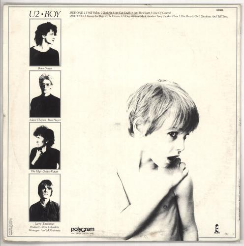 U2 Boy vinyl LP album (LP record) Portugese U-2LPBO737859