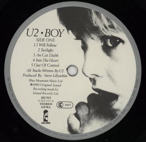 U2 Boy vinyl LP album (LP record) German U-2LPBO758105