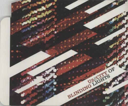 U2 City Of Blinding Lights - Slipcase memorabilia UK U-2MMCI660577