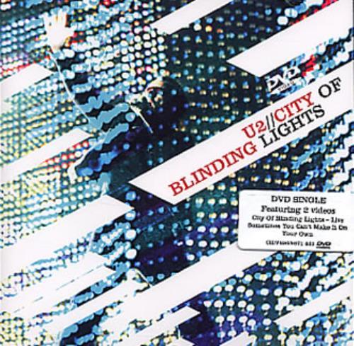 U2 City Of Blinding Lights DVD Single UK U-2DSCI325314