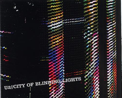 "U2 City Of Blinding Lights CD single (CD5 / 5"") UK U-2C5CI327139"