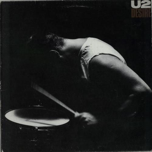 """U2 Desire 12"""" vinyl single (12 inch record / Maxi-single) Canadian U-212DE602515"""