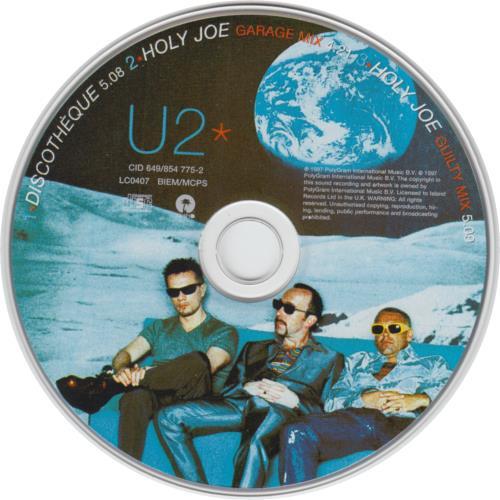 "U2 Discotheque - Digipak CD single (CD5 / 5"") UK U-2C5DI80149"