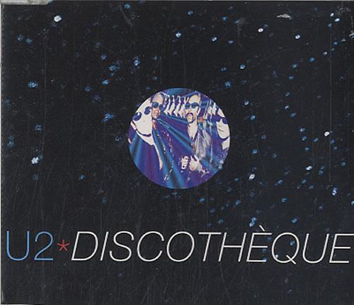 "U2 Discotheque - Part 2 CD single (CD5 / 5"") Australian U-2C5DI78202"