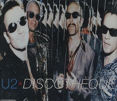 "U2 Discotheque - withdrawn jewel case - SEALED CD single (CD5 / 5"") UK U-2C5DI350388"