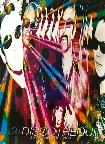 U2 Discotheque poster UK U-2PODI243650
