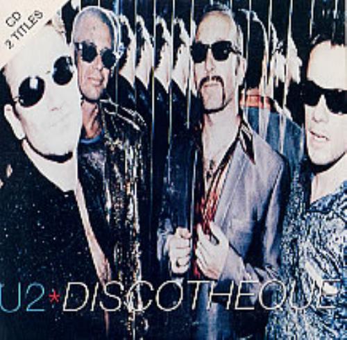 "U2 Discotheque CD single (CD5 / 5"") Australian U-2C5DI78201"