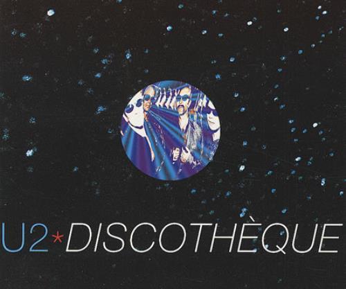 """U2 Discotheque CD single (CD5 / 5"""") UK U-2C5DI78516"""