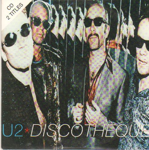 "U2 Discotheque CD single (CD5 / 5"") French U-2C5DI82806"