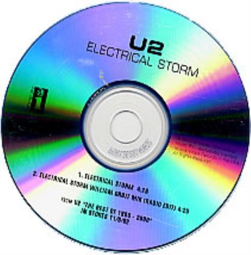 U2 Electrical Storm - REMIX CD-R acetate US U-2CREL224266