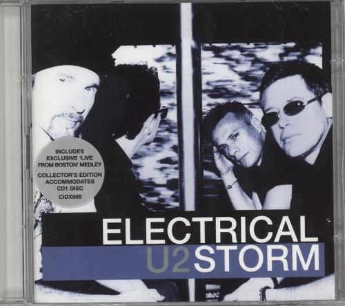 U2 Electrical Storm 2-CD single set (Double CD single) UK U-22SEL223461