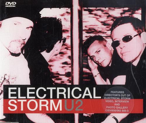 U2 Electrical Storm DVD Single UK U-2DSEL223462