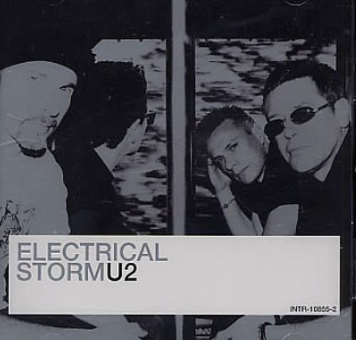 "U2 Electrical Storm CD single (CD5 / 5"") US U-2C5EL226508"