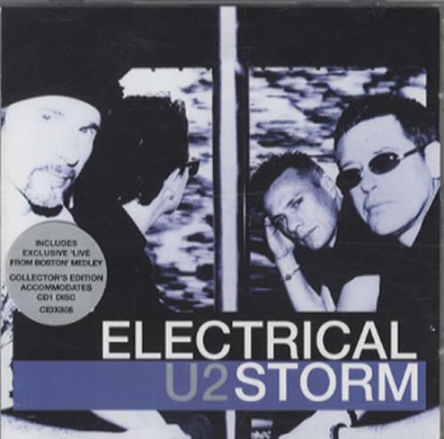 "U2 Electrical Storm CD single (CD5 / 5"") UK U-2C5EL344907"