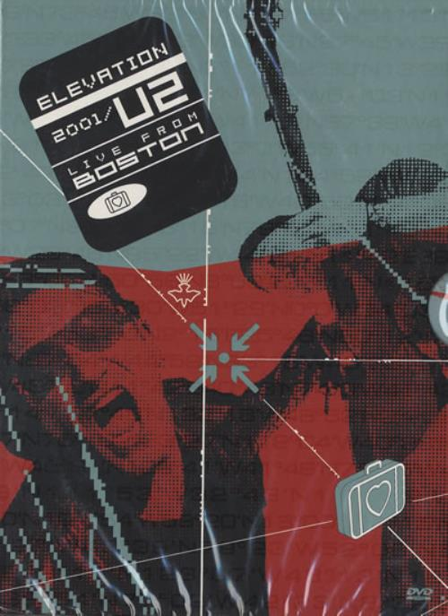 U2 Elevation 2001 Live From Boston - Sealed DVD UK U-2DDEL203462