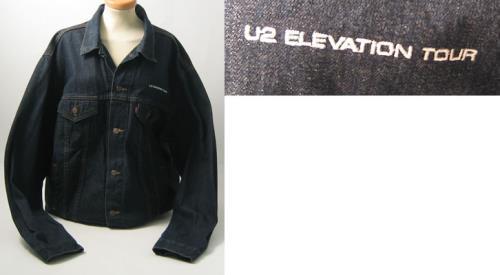 U2 Elevation Tour - Denim Crew Jacket - Medium jacket UK U-2JAEL386916