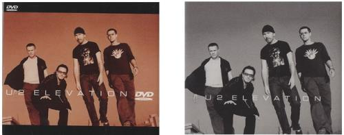 U2 Elevation 3-disc CD/DVD Set UK U-23DEL485906