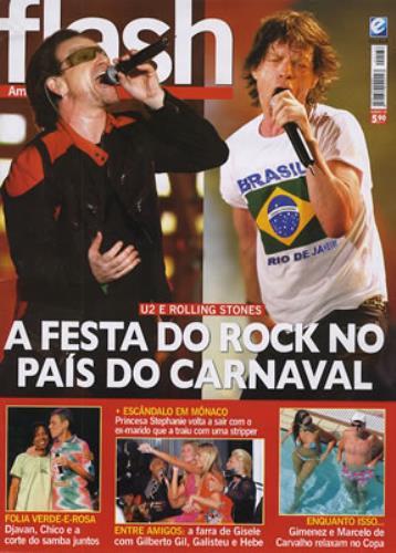 U2 Flash - Issue 136 magazine Brazilian U-2MAFL354588