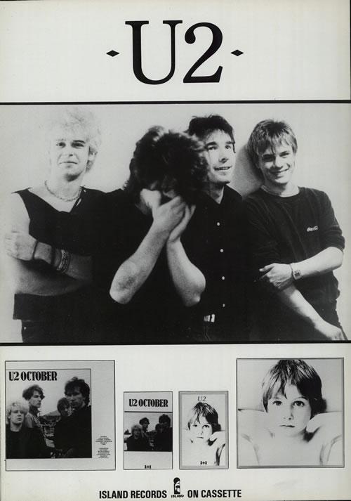 U2 Gateshead '82 tour programme UK U-2TRGA574799