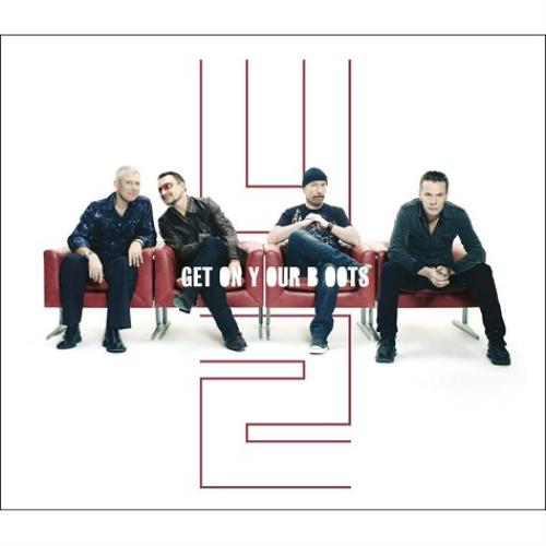 "U2 Get On Your Boots CD single (CD5 / 5"") UK U-2C5GE459691"