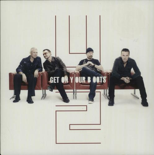 "U2 Get On Your Boots 7"" vinyl single (7 inch record) UK U-207GE459692"