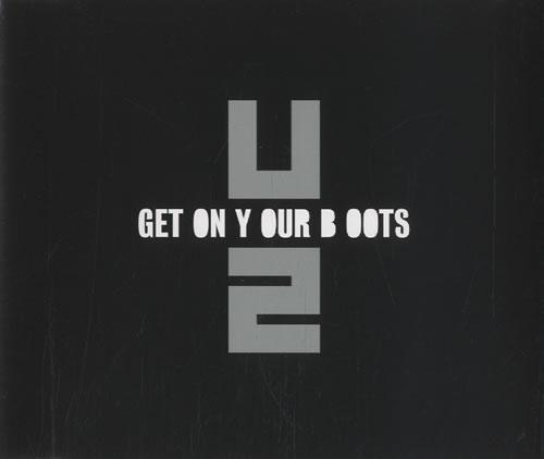 "U2 Get On Your Boots CD single (CD5 / 5"") UK U-2C5GE463095"