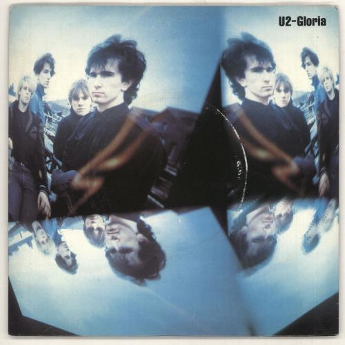 "U2 Gloria - Single Sided - P/S 7"" vinyl single (7 inch record) UK U-207GL730549"
