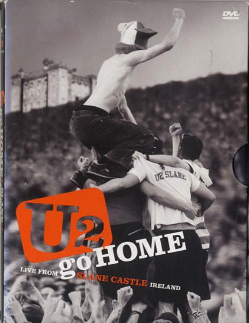 U2 Go Home: U2 Live From Slane Castle DVD UK U-2DDGO601968