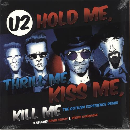 "U2 Hold Me, Thrill Me, Kiss Me, Kill Me - RSD BF18 12"" vinyl single (12 inch record / Maxi-single) UK U-212HO708658"