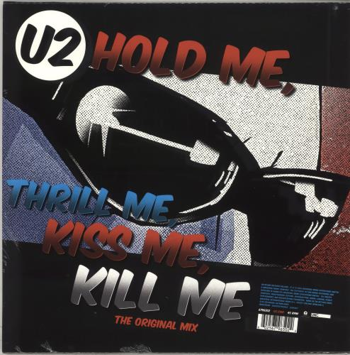 "U2 Hold Me, Thrill Me, Kiss Me, Kill Me - RSD BF18 12"" vinyl single (12 inch record / Maxi-single) UK U-212HO708658"