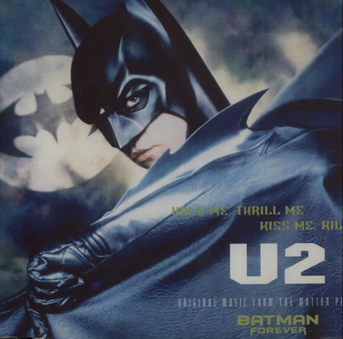 "U2 Hold Me, Thrill Me, Kiss Me, Kill Me CD single (CD5 / 5"") German U-2C5HO46682"
