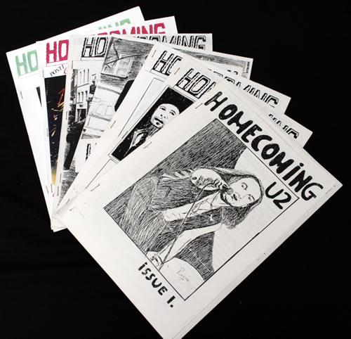 U2 Homecoming - 12 Issues fanzine UK U-2FAHO546523