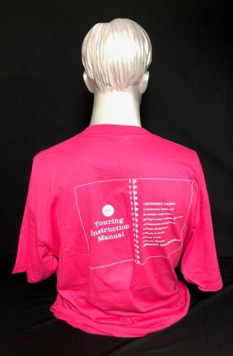 U2 How To Dismantle A Touring Production - Pink XL t-shirt UK U-2TSHO728989