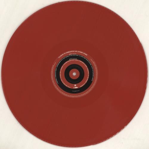 U2 How To Dismantle An Atomic Bomb - 180gram Red Vinyl vinyl LP album (LP record) UK U-2LPHO739879